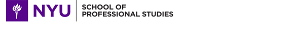 NYU School of Professional Studies logo