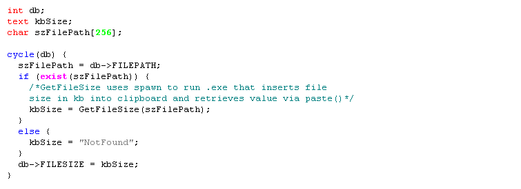 same CPL with syntax highlighting